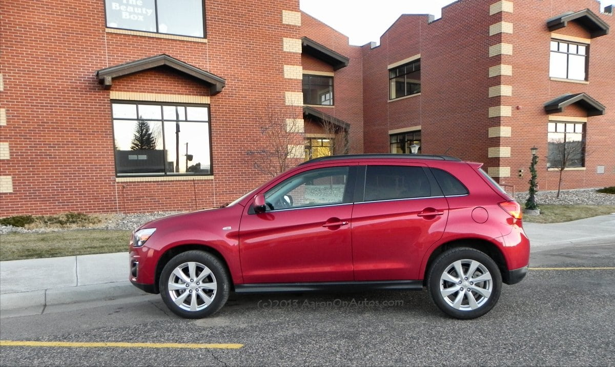 The Difference Between 2012 Mitsubishi Outlander Sport And 2014