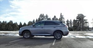 2014 Lexus RX 350 F-Sport – luxury, capability, and fun factor