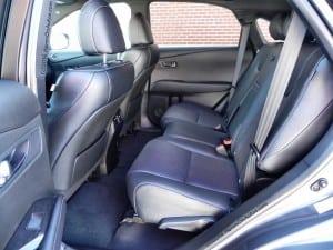 2014-LexusRX350 F-Sport back seat AOA1200px