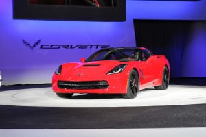 Corvette at the Detroit Auto Show 2014