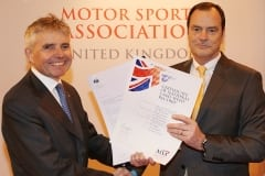 Drayson Racing Technologies receives the Excellence Award