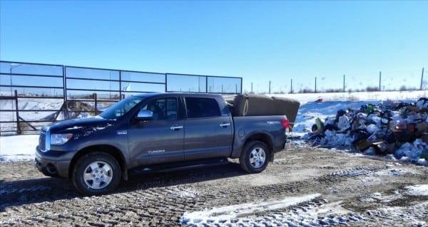2013 Toyota Tundra - at landfill - AOA1200px