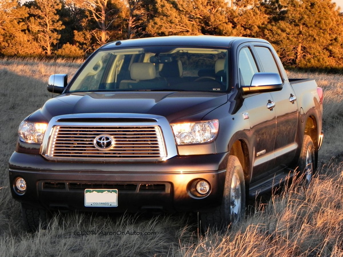 2013 Toyota Tundra TRD Offroad – big, beefy, and soft