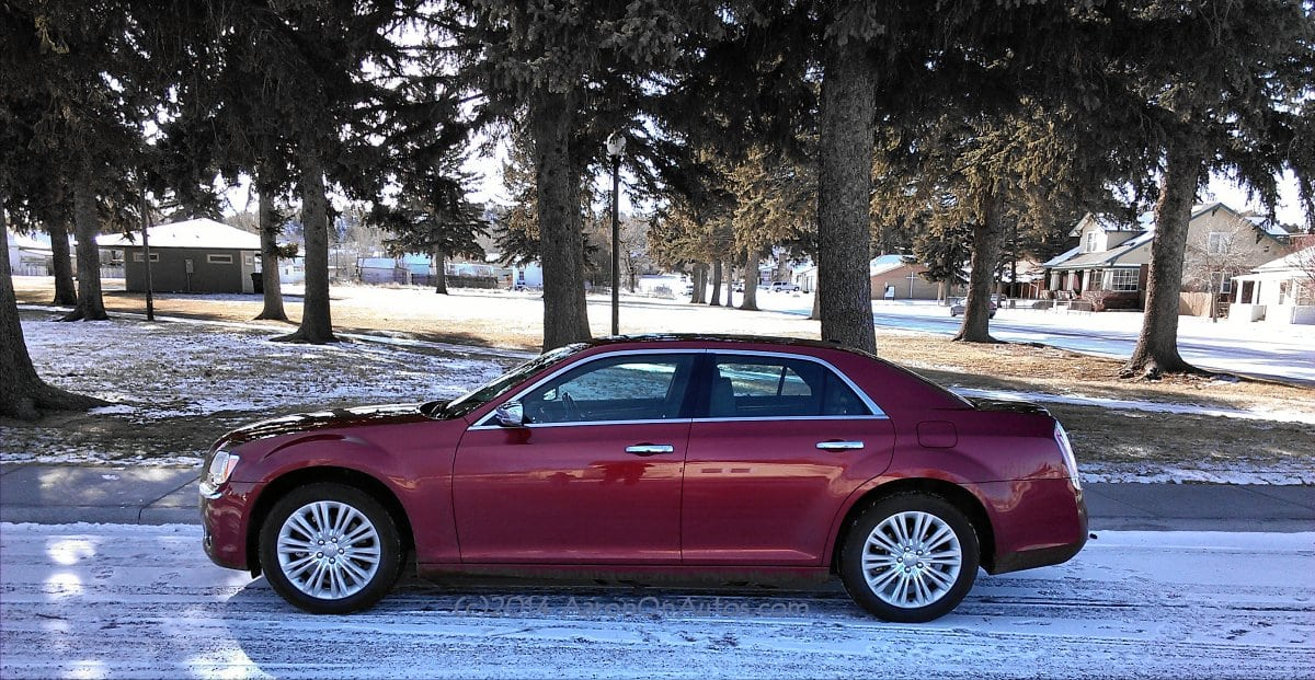 2014 Chrysler 300C AWD – the last of the big American cars