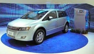 BYD's electric e6