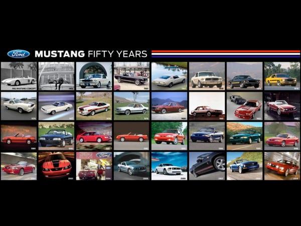 Mustang Timeline Hero Shot