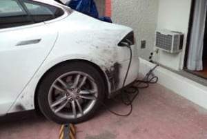 Texas to Panama Model S  charge anywhere