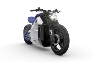 The electric motorcycle, Voxan, electric motorcycle