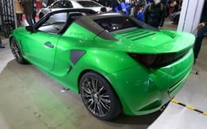 Toyota TS800 PHEV Roadster Concept