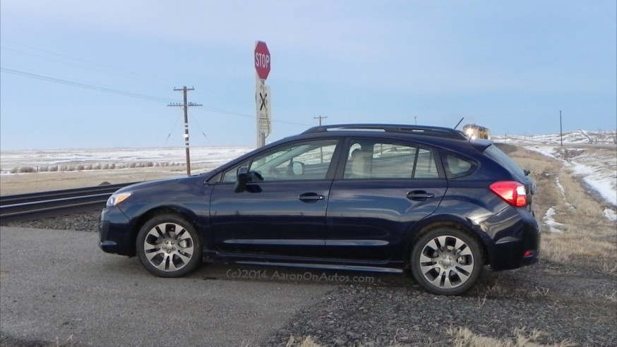 2014 Subaru Impreza Sport – go anywhere, with anyone, efficiently