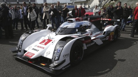 Audi's Le Mans warm-up takes the R18 e-tron to the streets