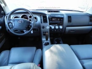 2013 Toyota Tundra - cockpit - AOA1200px
