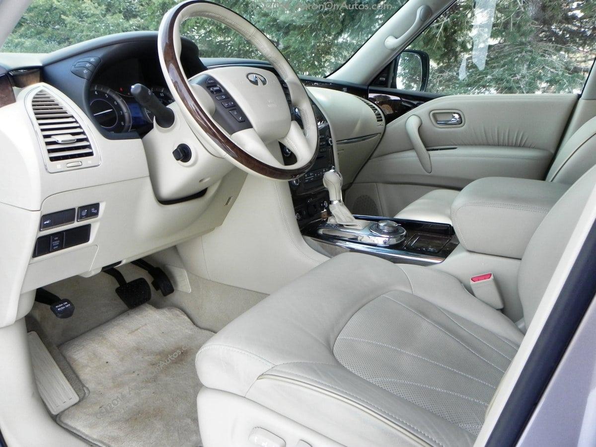 2014 Infiniti QX80 - interior - AOA1200px