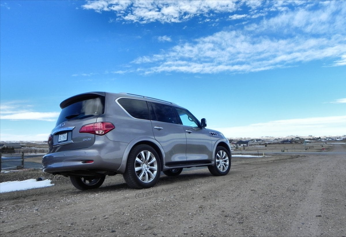 2014 Infiniti QX80 AWD – luxury has no size limit