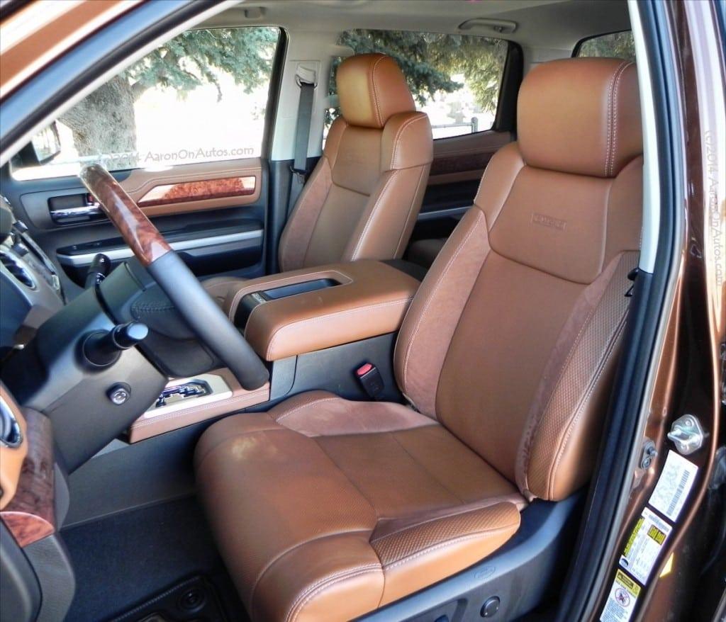 2014 Toyota Tundra 1794 - interior2 - AOA 1200px