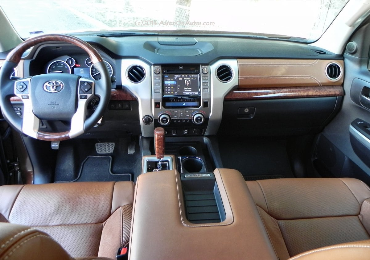2014 Toyota Tundra 1794 Interior Car Interior Design