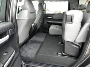 2014 Toyota Tundra Limited TRD - back seats - AOA1200px
