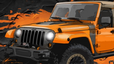 A Peek at upcoming concepts for Moab Easter Jeep Safari