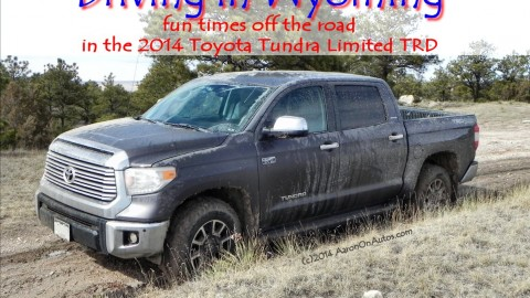 Aaron goes offroad in the 2014 Toyota Tundra TRD