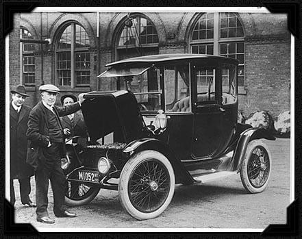 Edison Detroit Electric Car 1913