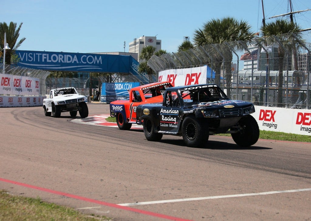 Stadium super trucks
