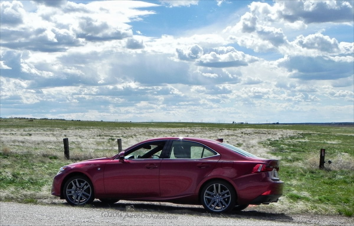 2014 Lexus IS350 F-Sport AWD – a sports car with refinement