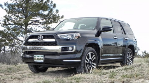 2014 Toyota 4Runner Limited – a square peg in a round hole