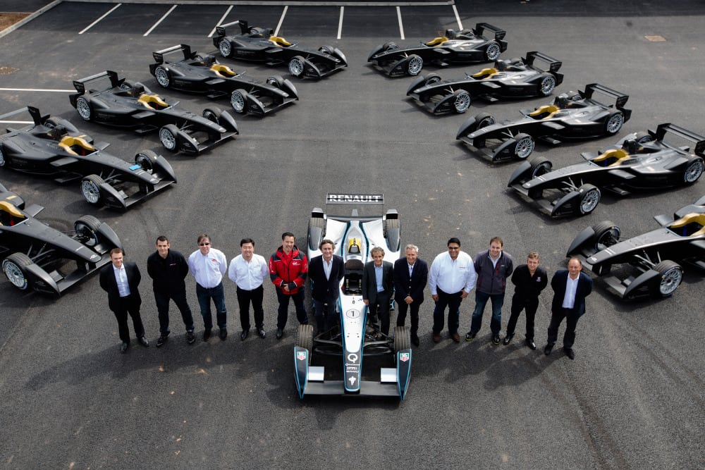 Teams receive first delivery of Formula E cars