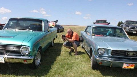 Father's Day Classic car show in Gering, Nebraska