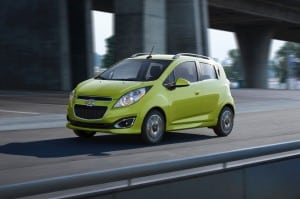 Chevy Spark makes presence known in the subcompact segment in a big way