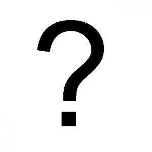 question mark and mysteries