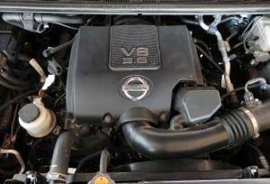 2014 Nissan Titan Pro-4X - engine - AOA1200px