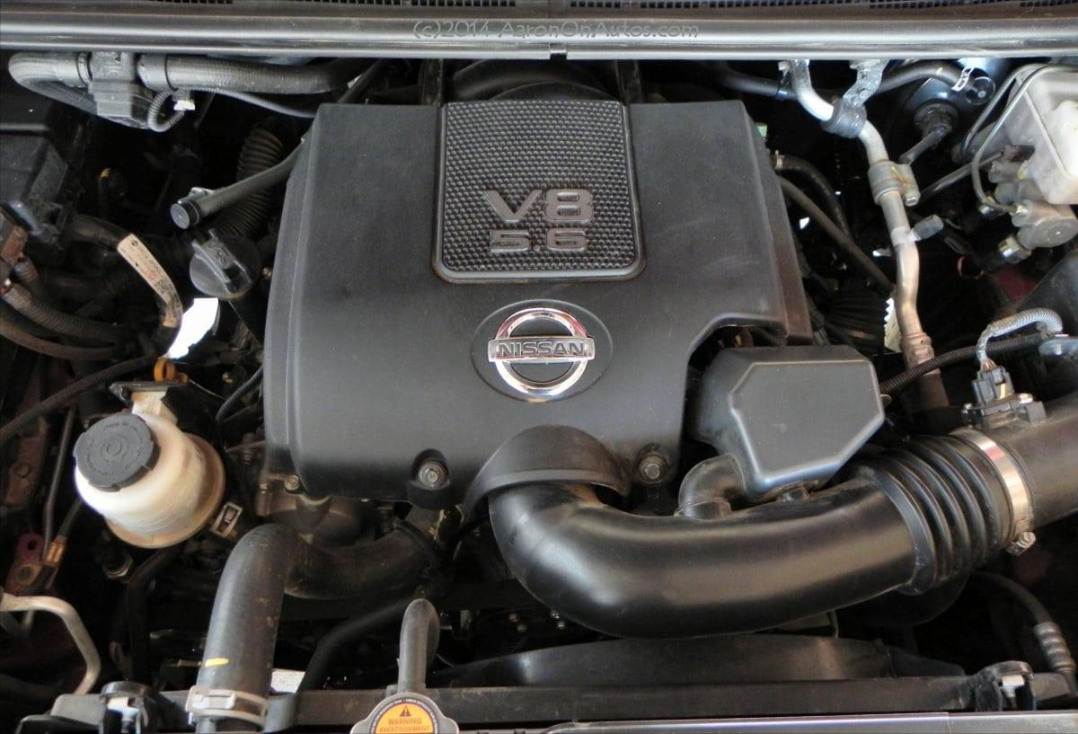 2014 nissan titan pro 4x is an aging but still competent pickup 2014 nissan titan pro 4x engine aoa1200px vanachro Gallery