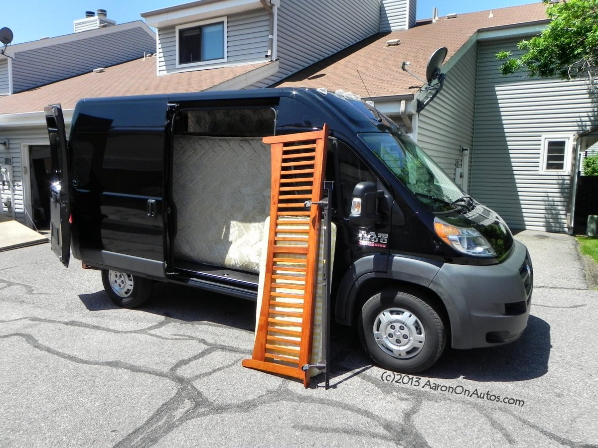 2014 Ram 1500 Promaster Cargo The Good Bad And Helping Dodge Van Loading 1 Aoa1200px
