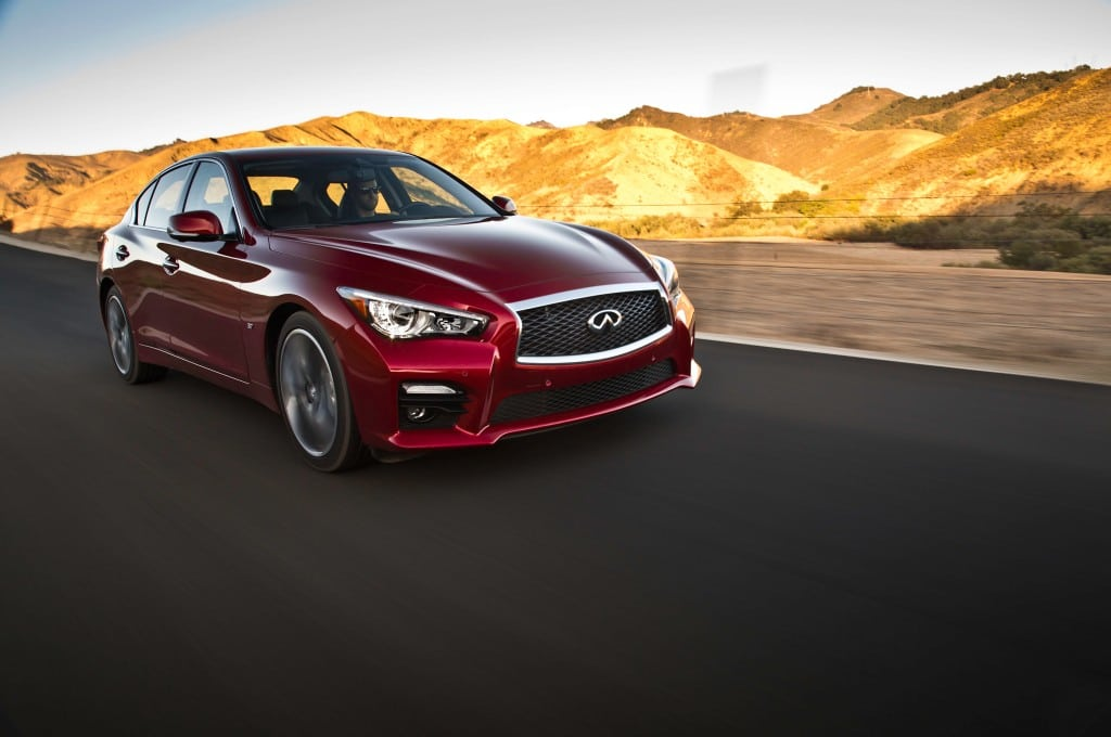 2014-infiniti-q50-s-front-three-quarters-in-motion
