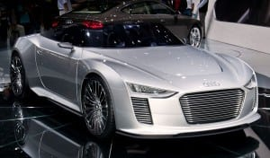 Audi e-tron plug in hybrid