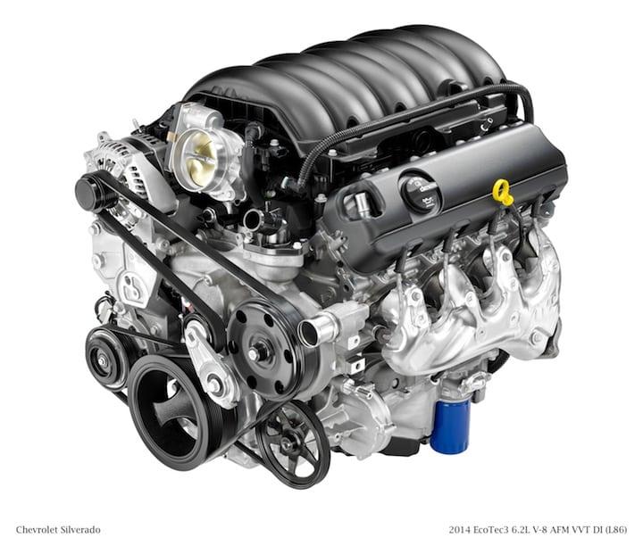 2014 EcoTec3 6.2L V-8 AFM VVT DI (L86) for Chevrolet Silverado