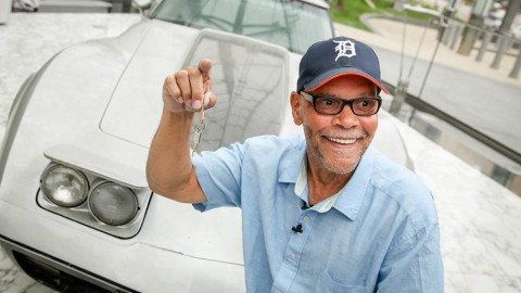 After 33 years, Detroit man is reunited with his stolen Corvette
