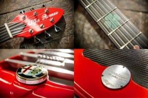 Harrison Alfa Romeo Guitar