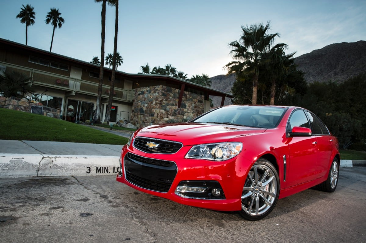 2014 Chevy SS Special – Australian RWD Sedan caters to hardcore GM Fans
