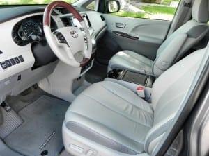 2014 Toyota Sienna - interior 1 - AOA1200px
