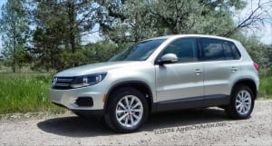 2014 Volkswagen Tiguan is not a typical mainstream X