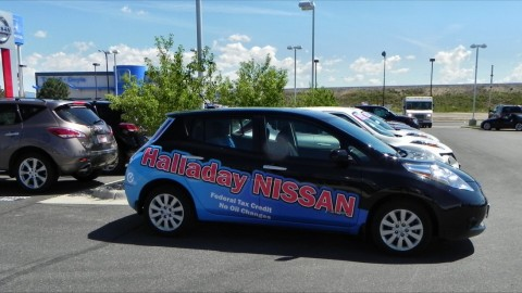 Nissan dealership in Wyoming gets LEAF certification.. Why?