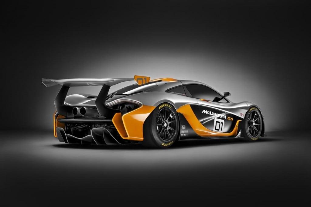 McLaren P1 GTR rear 3_4