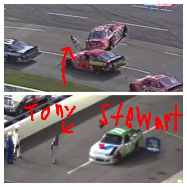 Tony Stewart S Car Collection