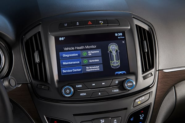 buick regal infotainment