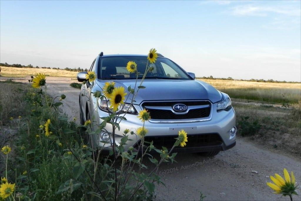 2014 Subaru XV Crosstrek Hybrid - flowers - AOA1200px