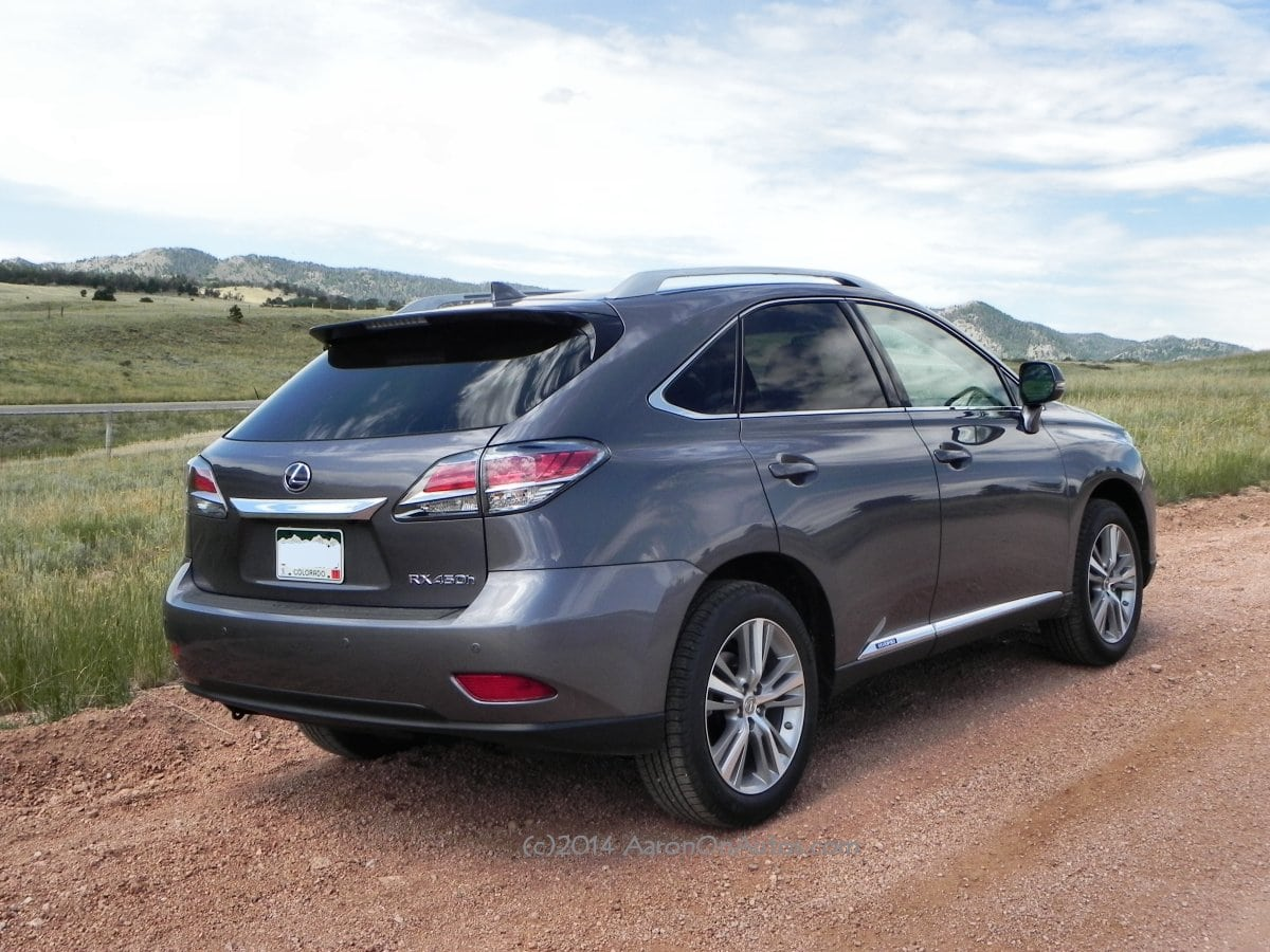 2015 Lexus RX 450h is finetuned hybrid luxury  CarNewsCafecom