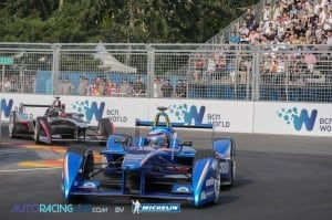 Formula E First Race the clash