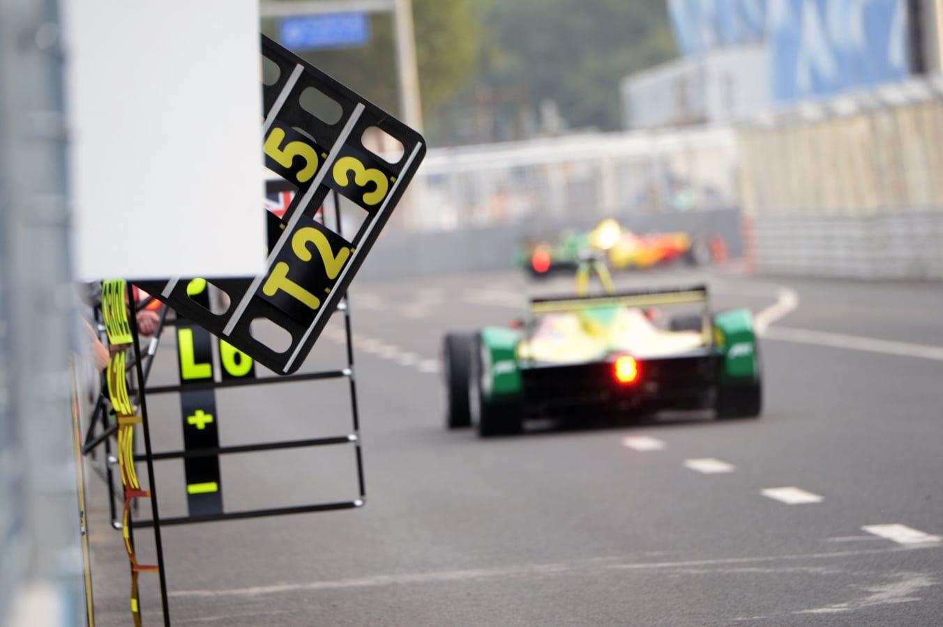 Formula E First Race
